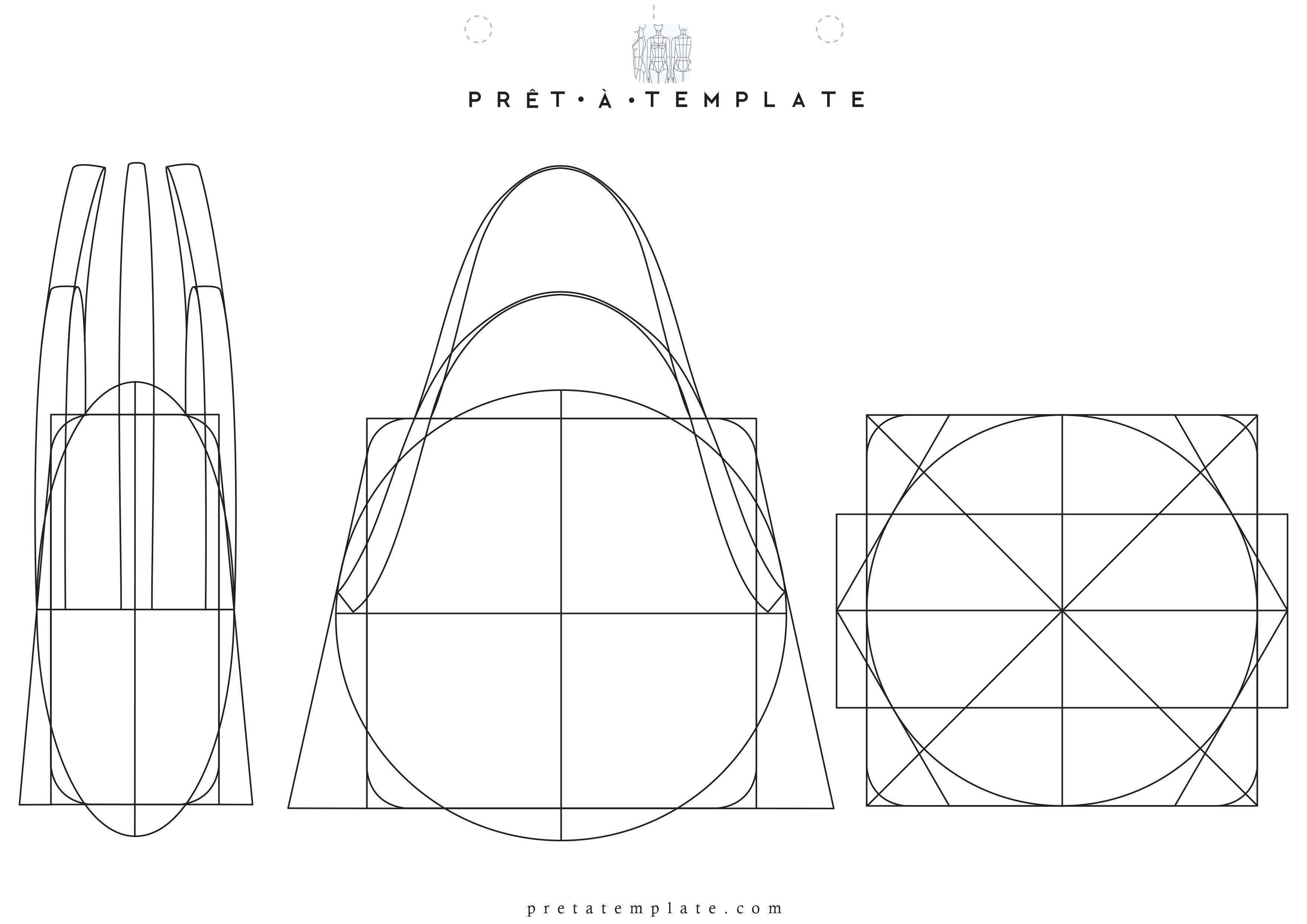 bag purse figure fashion template (D-I-Y your own Fashion