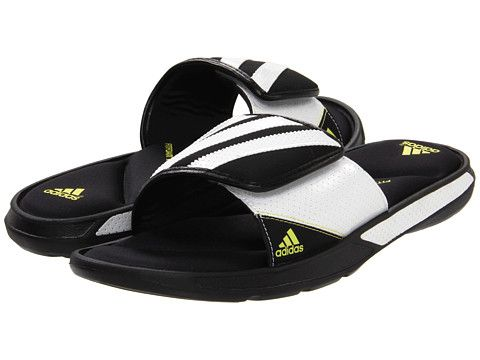 503246fb87b adidas Centerbreak FF Black White Lab Lime - Zappos.com Free Shipping BOTH  Ways