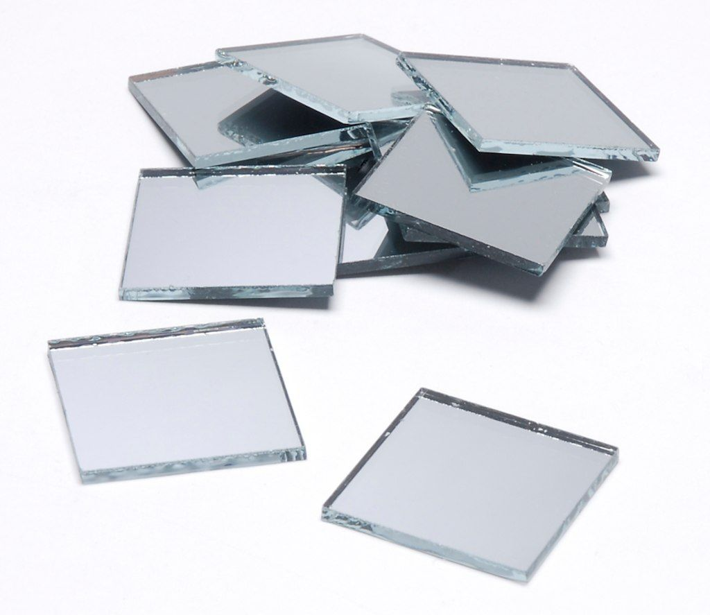 Craft Mirrors 1 Inch Mini Square Mirrors By Darice 6 Pack Michaels Mirror Crafts Mirror Mosaic Small Mirrors