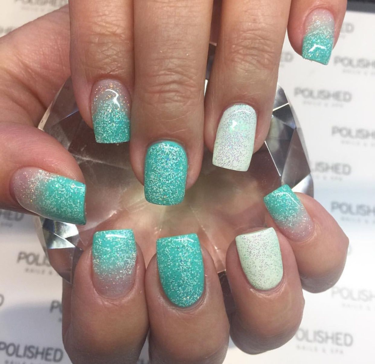 Pin by L. Spears on Nails   Nail tattoo, Gradiant nails, Nails