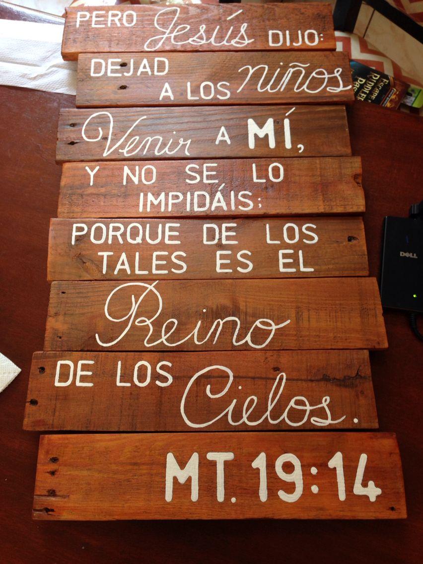 Mateo 19:14 www.facebook.com/esperanza.inspiración