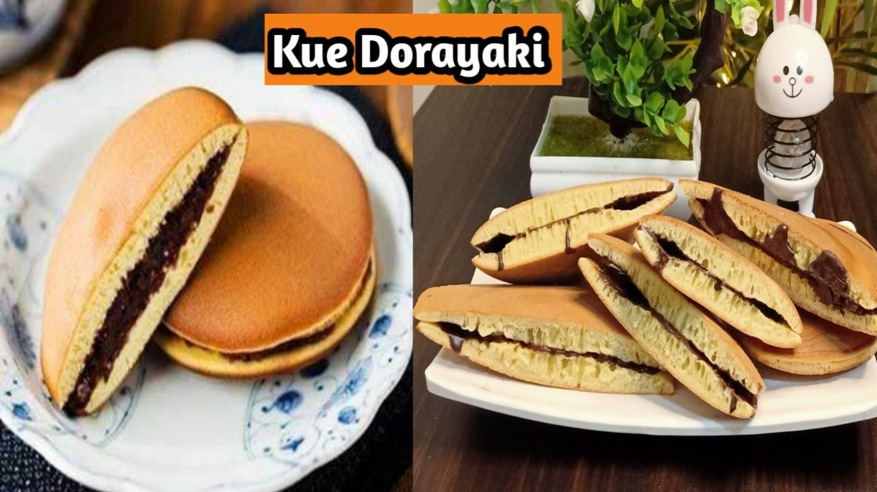 Resep Dorayaki Japanese Pancake Dorayaki In 2021 Japanese Pancake Food Hot Dog Buns