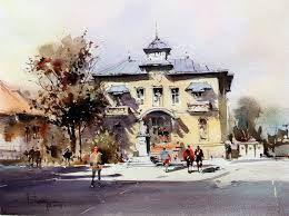 Resultado de imagen de corneliu dragan watercolors