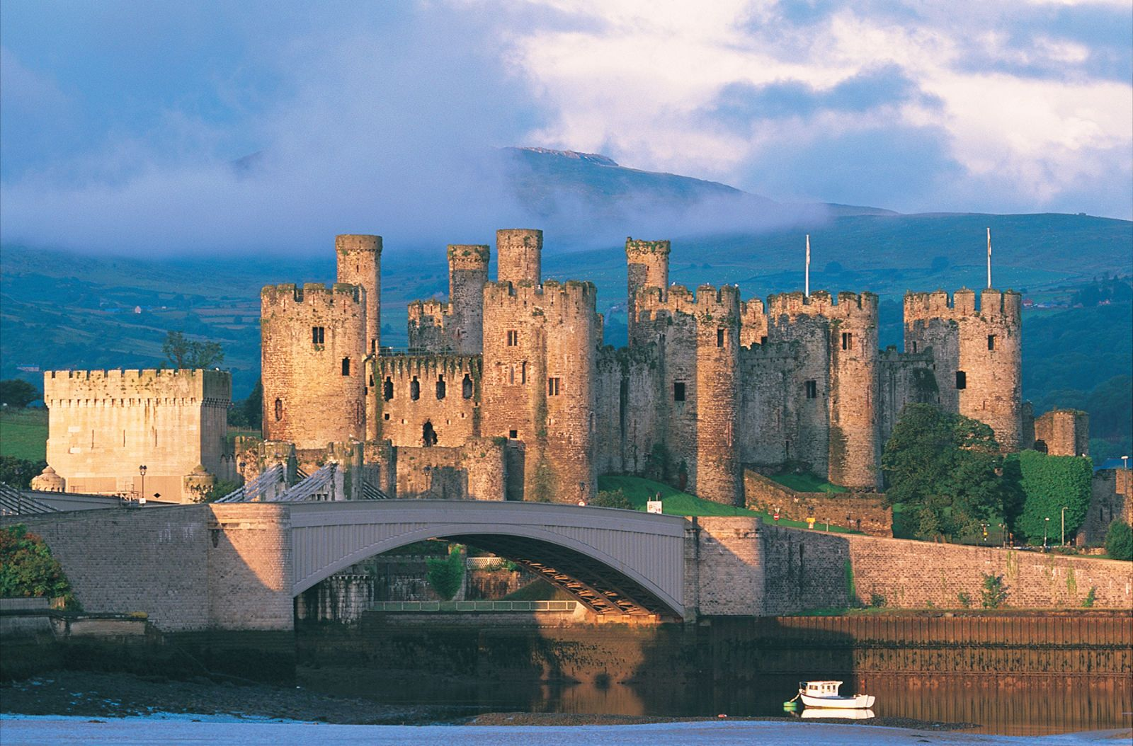 Image result for Conwy Castle, Wales, United Kingdom