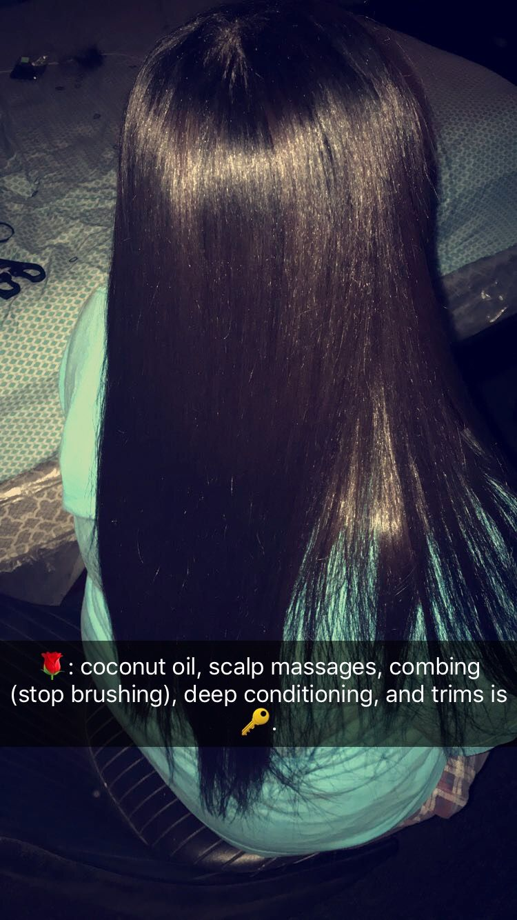 Like What You See Follow Me For More India16 Healthy Hair Tips Relaxed Hair Hair Styles
