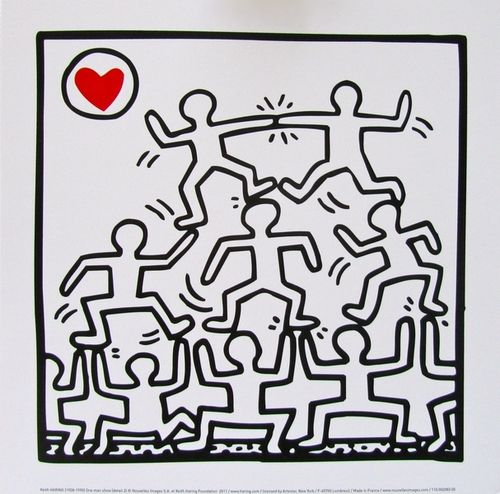 Séquence autour de Keith Haring | HARING | Keith haring, Keith ...