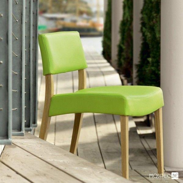 de salle à manger en bois et tissu Aero Light Mobitec®