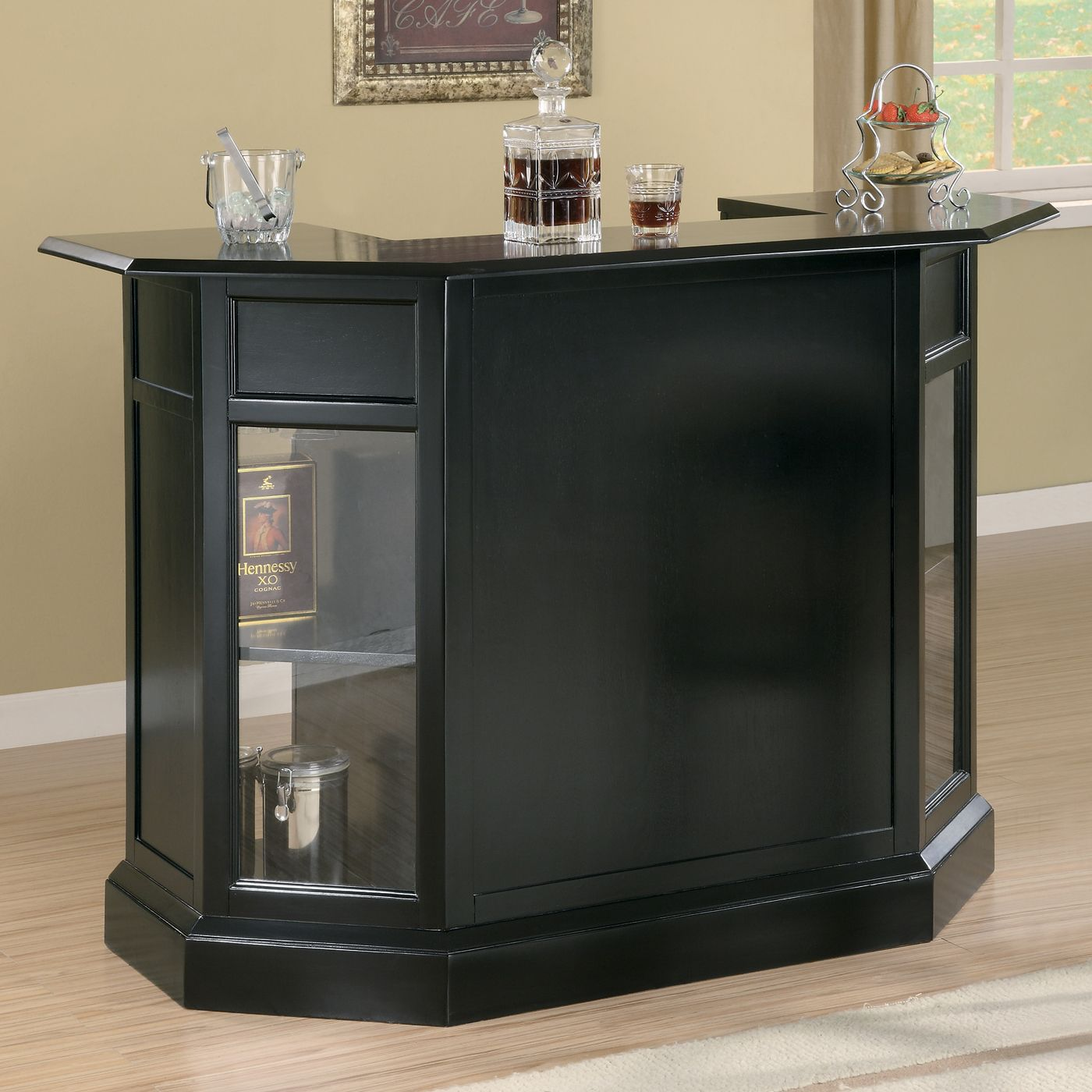 Delightful Coaster Fine Furniture Modern Bar Unit | ATG Stores