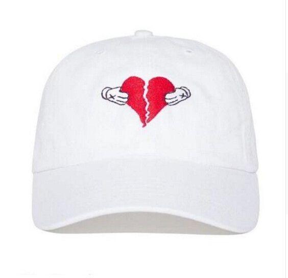 808 S Heartbreak Dad Caps 3 Colors Dad Hats Embroidered Baseball Caps Womens Baseball Cap