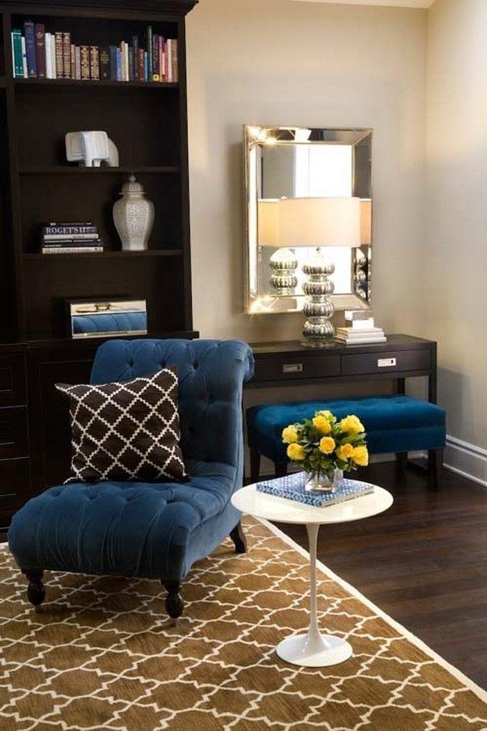 Wohnzimmer Farblich Gestalten: 71 Wohnideen Mit Der Farbe Blau | Farbe Blau,  Gestalten Und Wohnzimmer