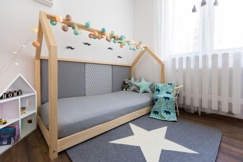 Kinderbett / Hausbett 80x180cm + 3 Paneele große in 2019