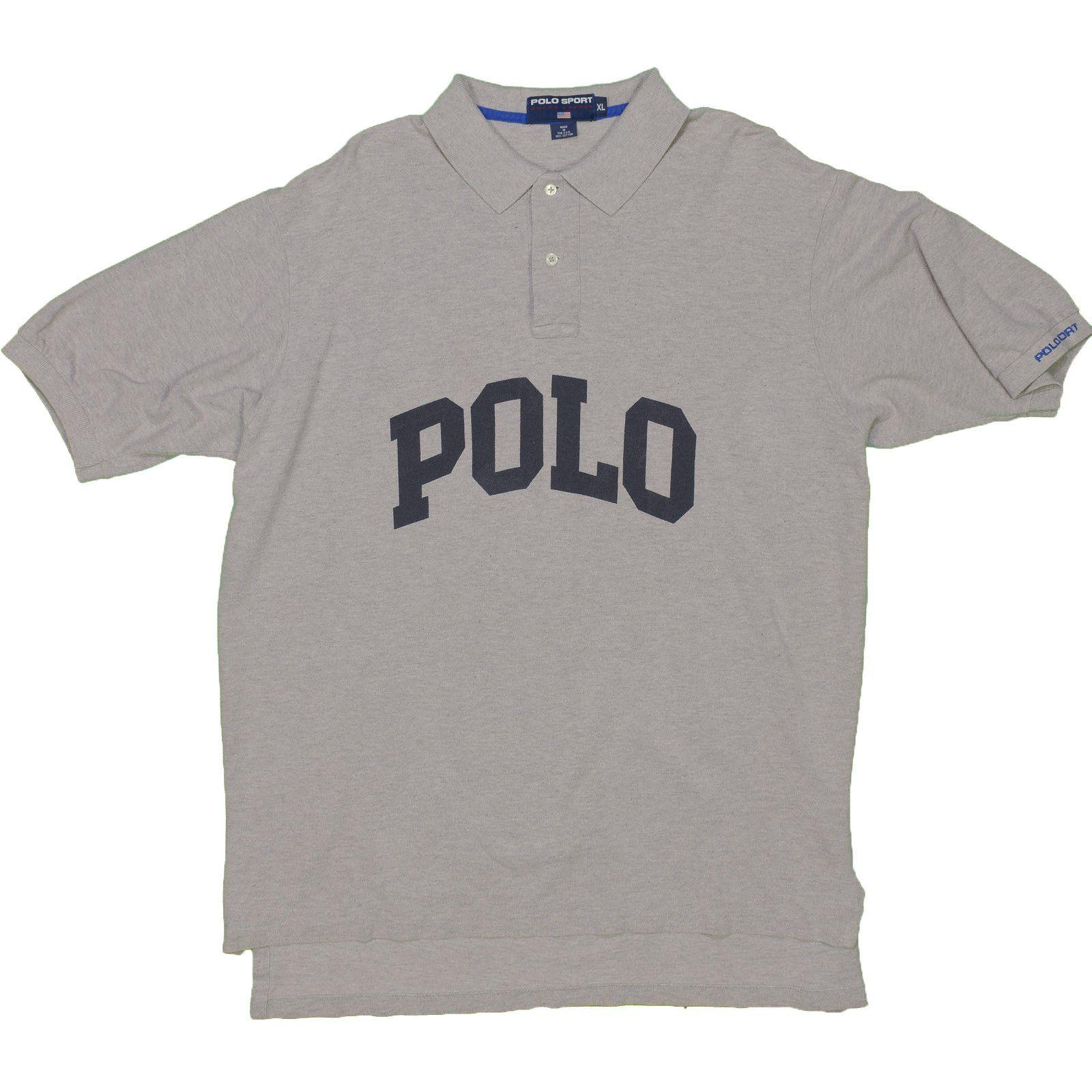 Polo Sport Ralph Lauren Men's Shirt Vintage XL Made USA