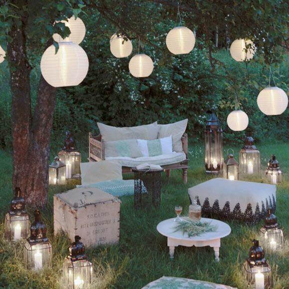 Garden idyll: inspiración aquí en la revista Westwing