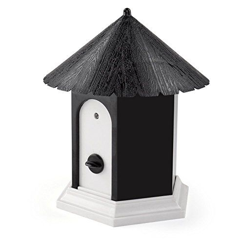 Sonic Bark Deterrents Super Ultrasonic Outdoor Bark Control Birdhouse Ultrasonic Training Dog Stop Barking Black Dog Barking Dog Control Stop Dog Barking