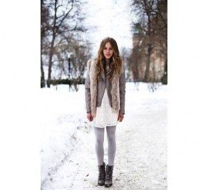 Winter photo shoot
