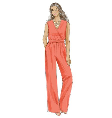 aa473456a3b929 New from Khaliah Ali for McCall's: this fantastic jumpsuit sewing pattern  for Misses and Plus Sizes. M7135 also includes a dress and loose jacket.
