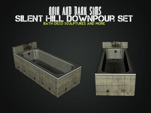 Silent Hill Downpour Set by Noir and Dark Sims - Sims 3 Downloads CC Caboodle