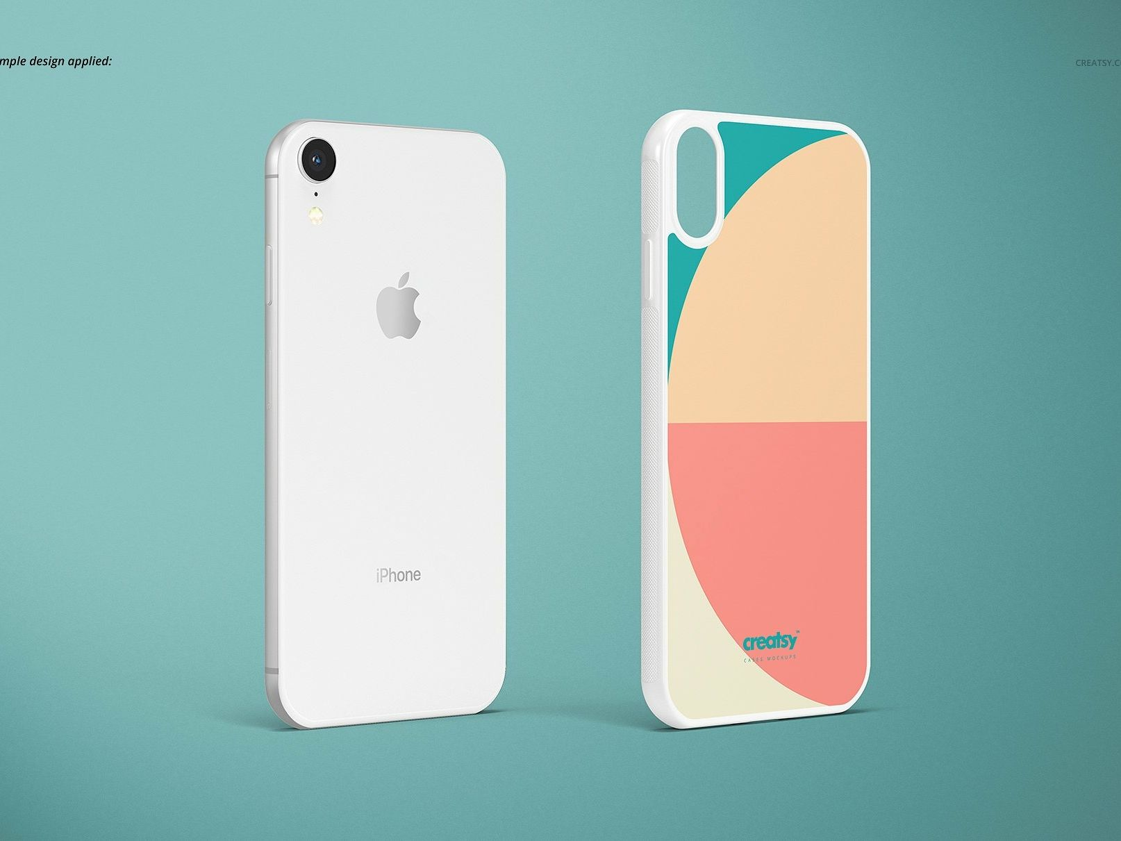 Download Iphone Xr 2d Case White Mockup Set Iphone Padded Case Case