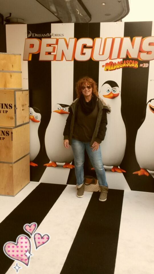 Premiere of the Penguins in London