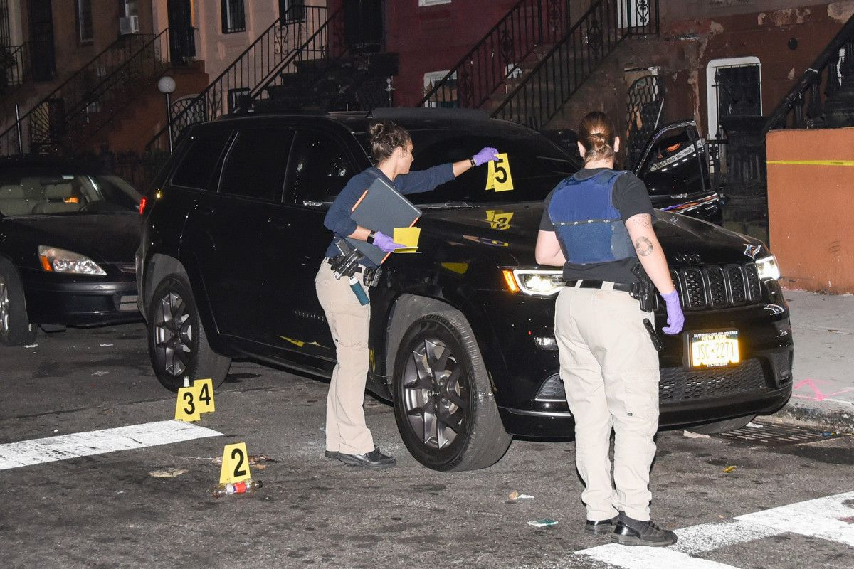 One man killed five injured amid overnight shootings in