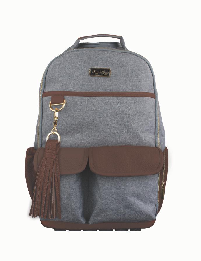 dee872664d Eddie Bauer Bridgeport Backpack Diaper Bag In Grey