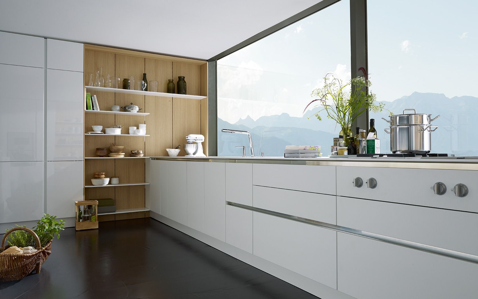 Modern Kitchen Without Handles S2 Siematic Com Kitchen Cabinets Without Handles Kitchen Without Handles Modern Kitchen Open