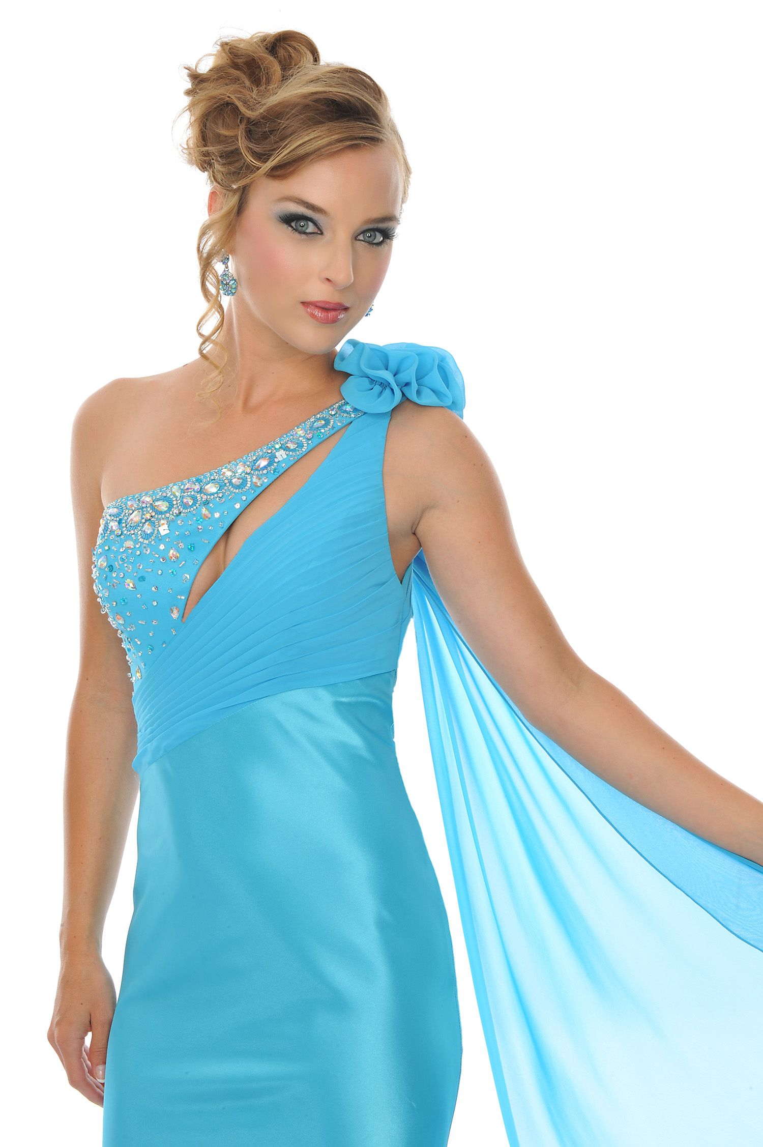 Precious Formals Prom Dress Style P20903 available in Turquoise ...