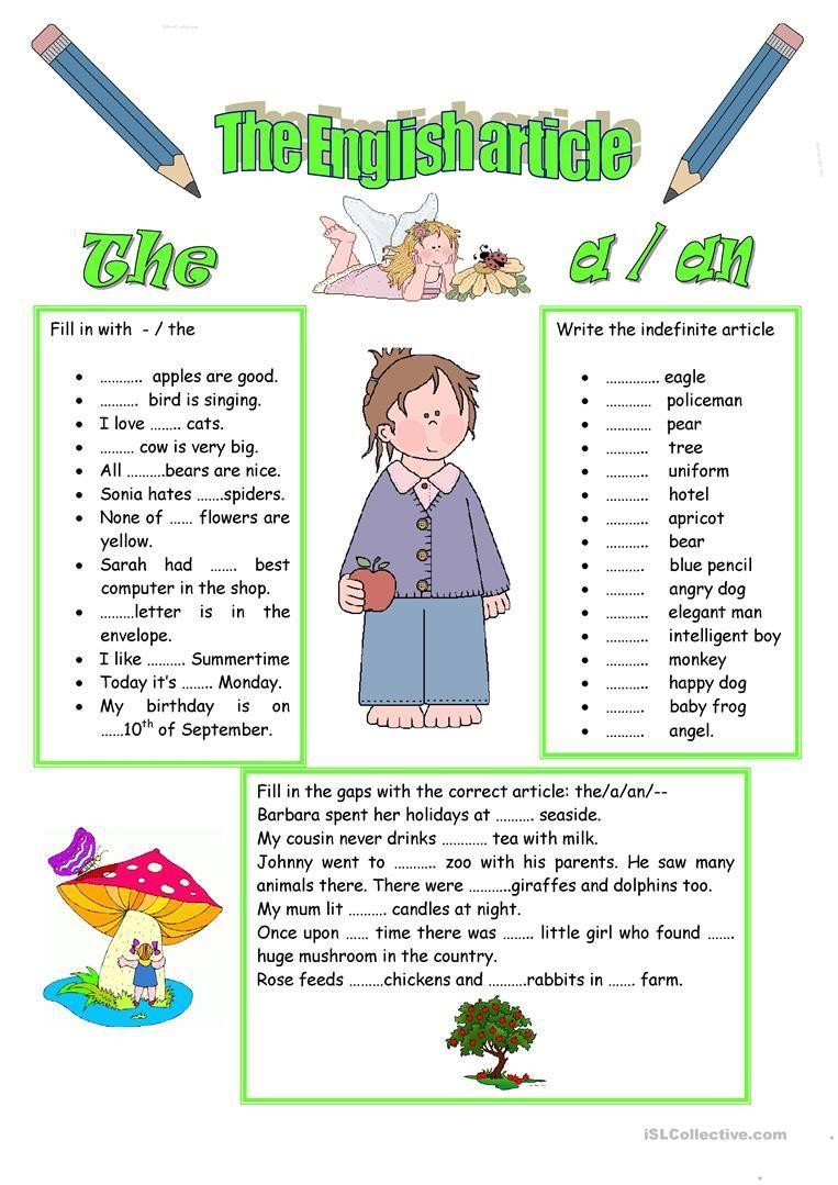 Articles Definite And Indefinite Articles Article Grammar English Grammar Worksheets [ 1079 x 763 Pixel ]