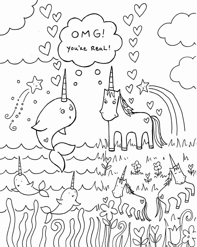 Animal Rescue Coloring Pages Beautiful Narwhal Coloring Pages Animal Coloring Page In 2020 Birthday Coloring Pages Unicorn Coloring Pages Happy Birthday Coloring Pages