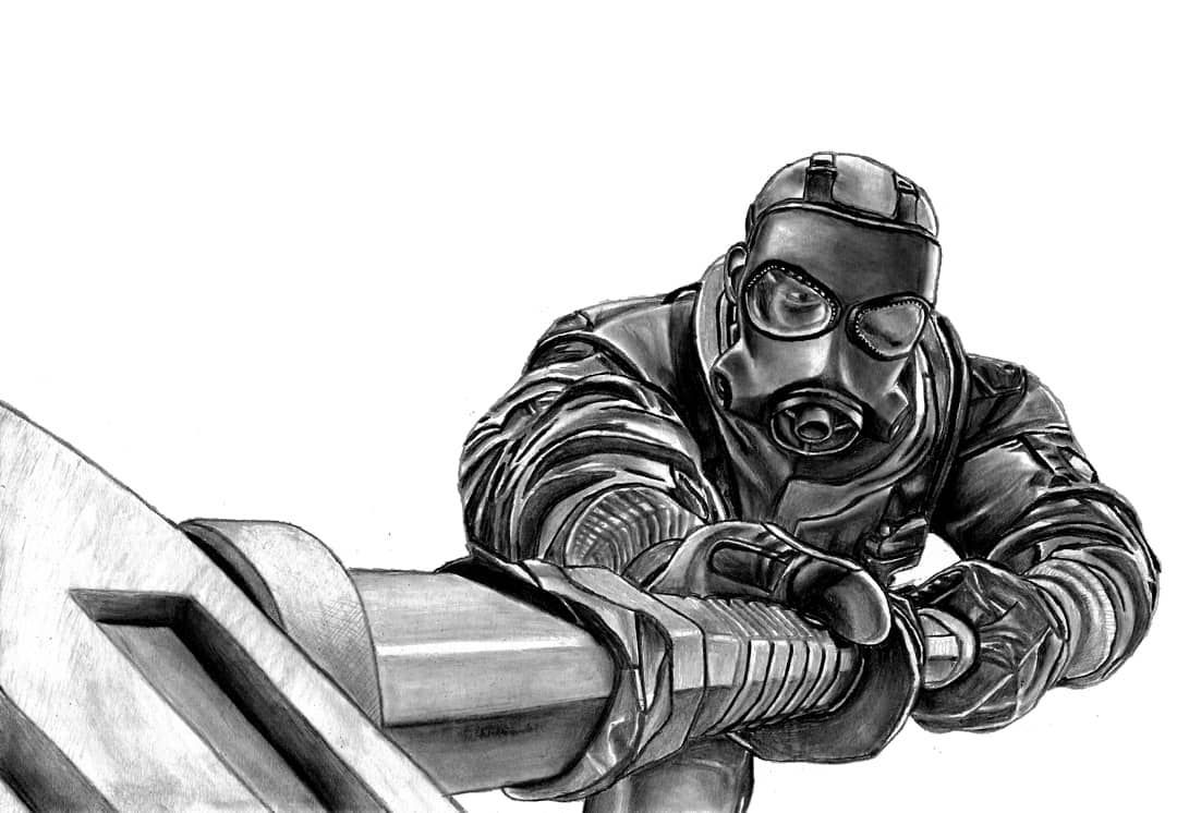 Remember I Take The Doors Tom Clancy S Rainbow Six Siege Seamus Sledge Cowden Ubisoft Tomclan Special Force Special Air Service Tom Clancy S Rainbow Six