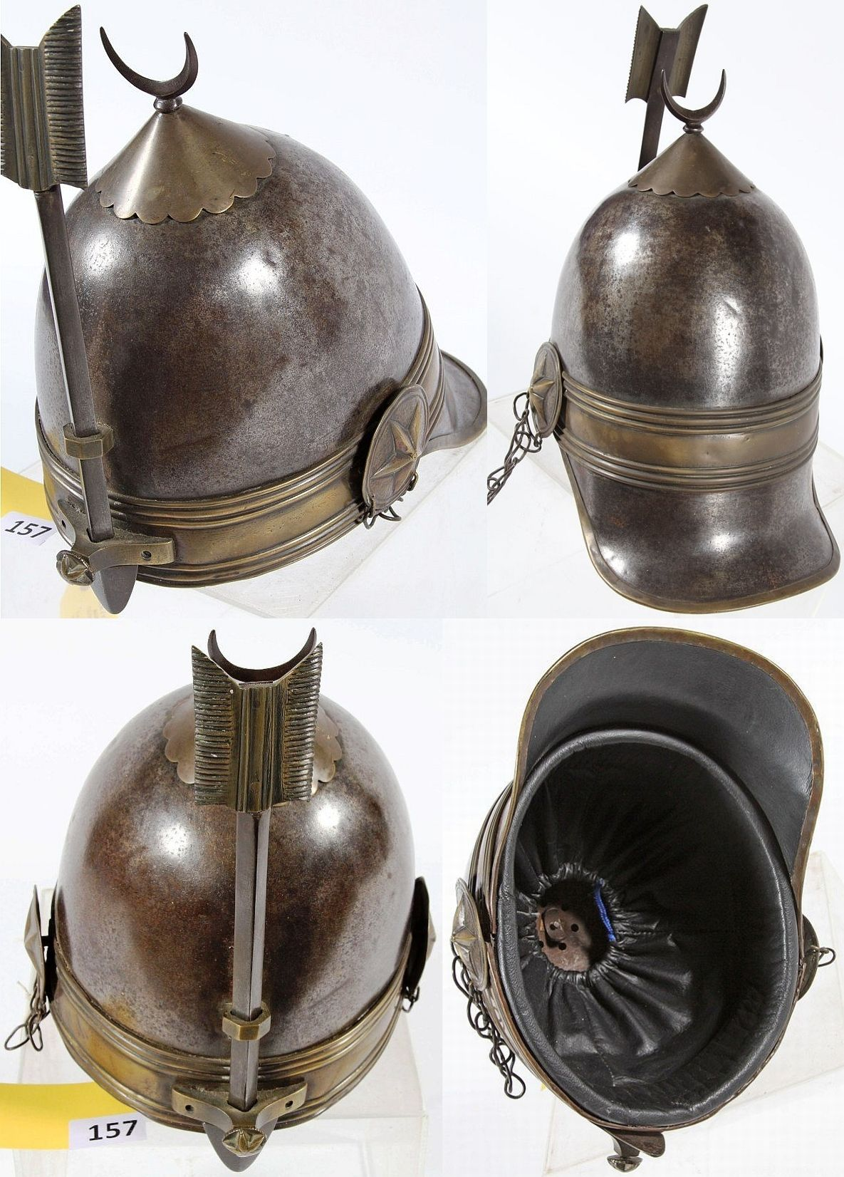 Ottoman Military Helmet In The Style Of The Old Chichak Helmet