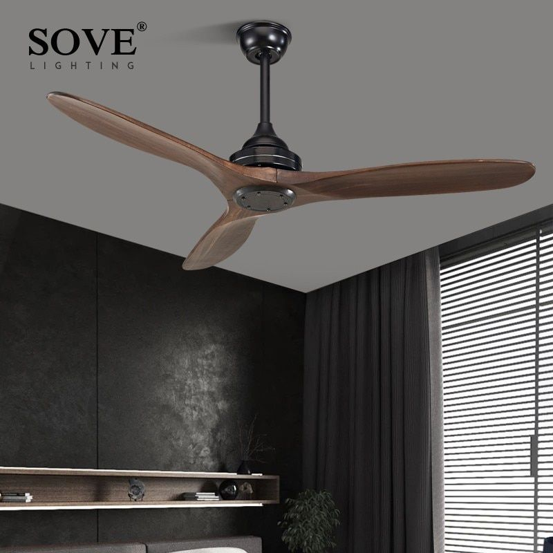 Wholesale Price Free Shipping Indoor Lighting Modern Nordic Dining Room Ceiling Fan With