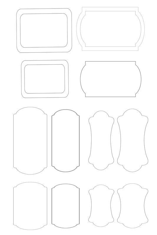 Заготовки для открыток на печать
