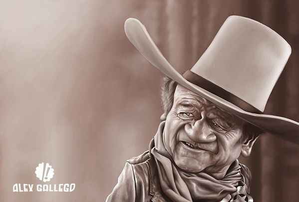 Movie and TV Caricatures on Behance