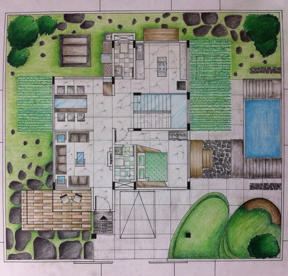 Gazebosandgardensheds Floor Plan Design Rendered Floor Plan Hand Sketch