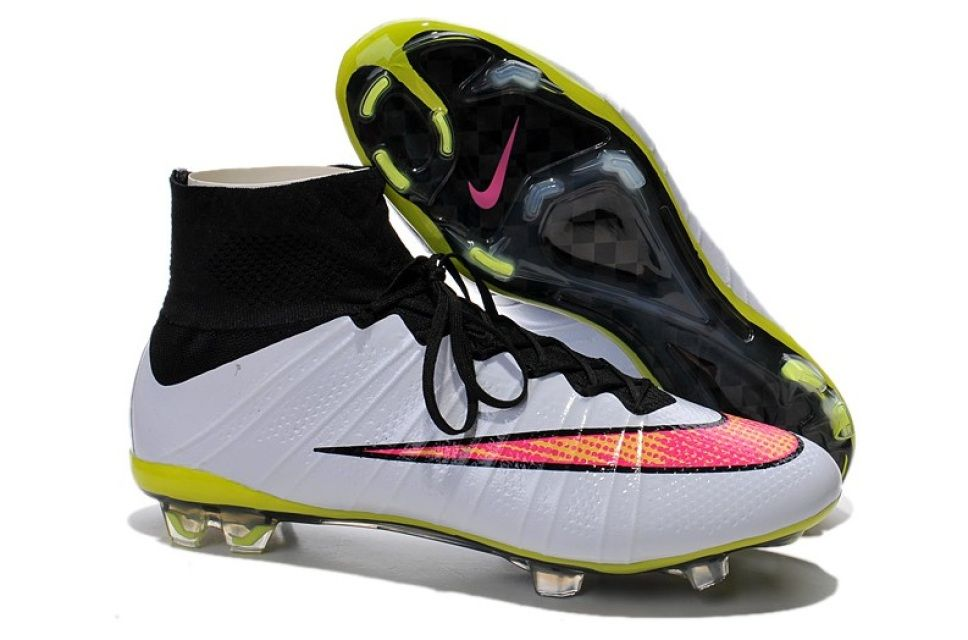 Mercurial superfly soccer cleat black football boots