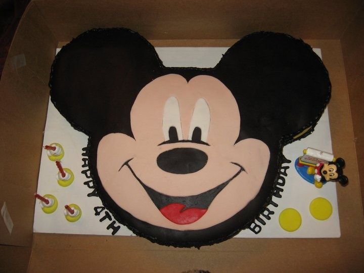 Mickey Mouse Cake Birthday Templates New Face