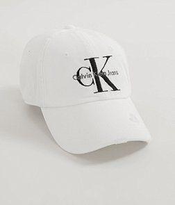 63d00c399cd Calvin Klein Jeans Destructed Hat