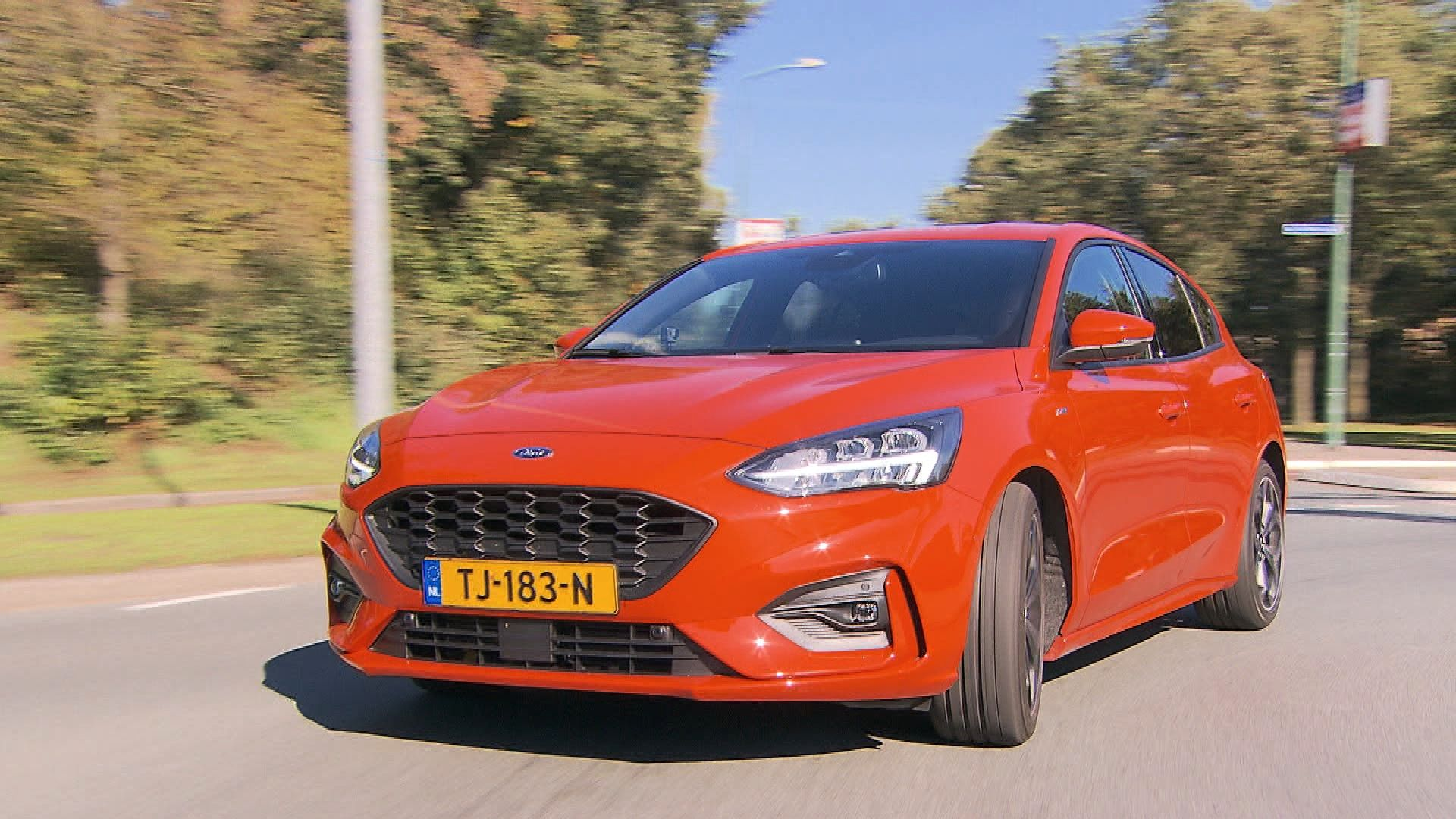 Ford Focus St Line 2019 1 0 Eco Boost Met Tom Coronel Ford Focus Ford Auto