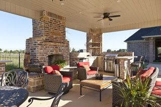 RaeLynn Callaway - traditional - patio - little rock - by Classically Yours Interiors (CYInteriors)