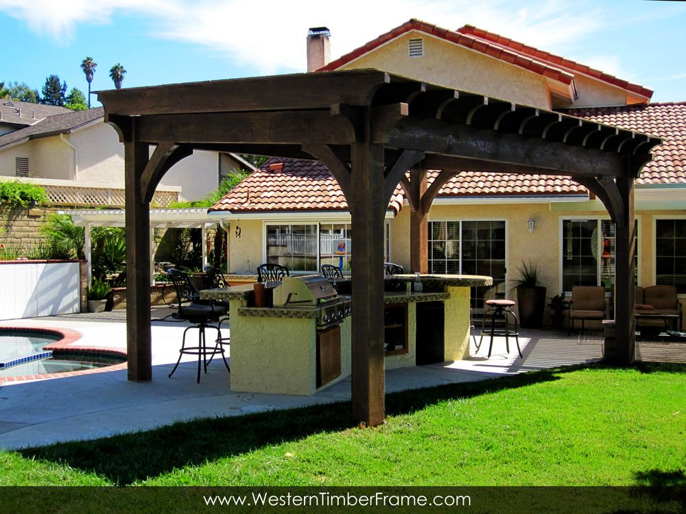 When REI, Cafe Rio, U0026 Classy Homeowners Are Looking For A Retreat For Their  Customers Or Themselves They Turn To A Western Timber Frame Pergola Or  Pavilion ...
