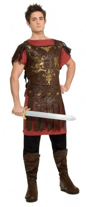 One Size Men/'s Spartan Tunic Costume Rubies Official Roman Adult