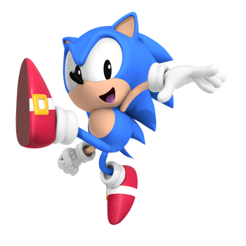 Classic Sonic Jump Out Pose By Nibroc Rock Classic Sonic Sonic Sonic The Hedgehog