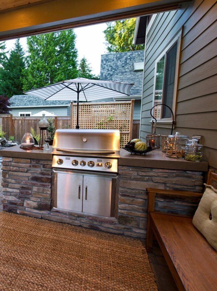 outdoor kitchen ideas on a budget affordable small and diy outdoor kitchen ideas diy on outdoor kitchen easy id=31043