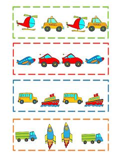 preschool printables transportation pattern template. Black Bedroom Furniture Sets. Home Design Ideas