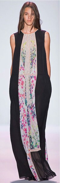 Nice dress....