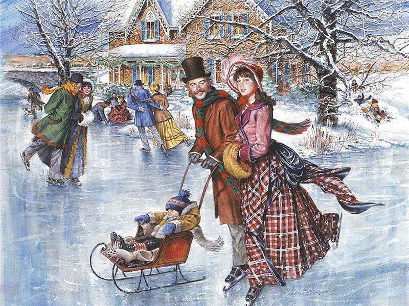 здоров крепок рождественские забавы в картинках тётушка имеет дома