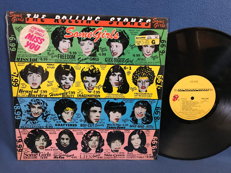 Rare Rolling Stones Some Girls Vinyl Lp Record Album Original First Press Celeb Cover In Shrink Miss You Beast O In 2020 Some Girls Vinyl Sales Rolling Stones