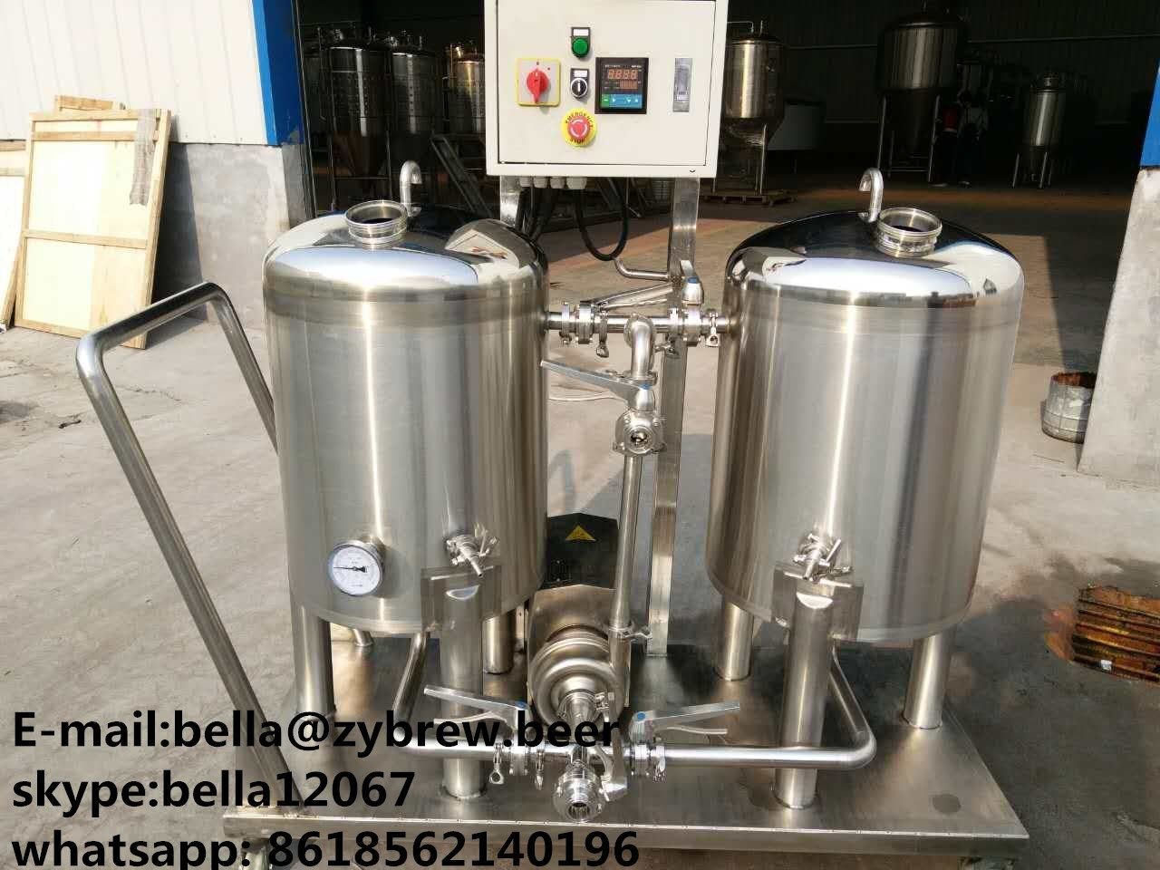 Cip Cleaning System 1 Alkali Tank With Heating Function 2 Sterilization Tank 3 Cip Pump 4 Micro Power Ca Home Brewery Beer Brewing Brewing Equipment