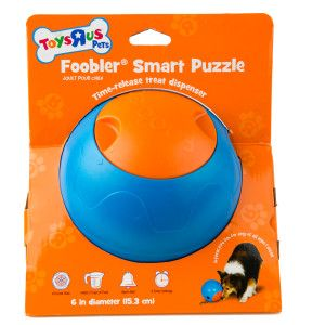 Toys R Us Pets Foobler Smart Puzzle Dog Toy Treat Dispenser